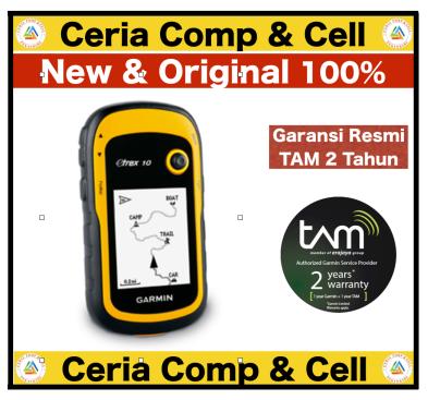 GPS Garmin eTrex 10 Pekanbaru