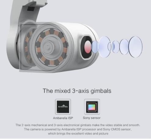 Drone Xiaomi Fimi A3-3