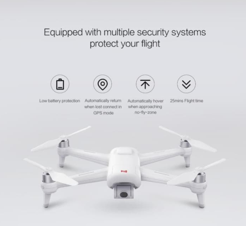 Drone Xiaomi Fimi A3-4