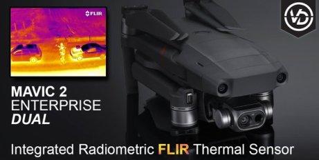 DJI Mavic 2 Enterprise Dual Vertigo Drones